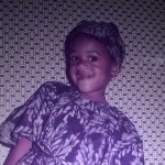 Ayesha Casely-Hayford - the mini version. Actress: in African print
