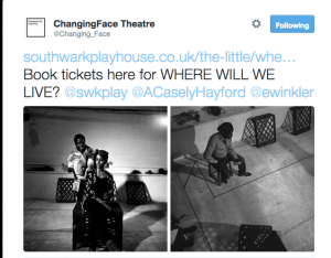 "Ayesha Casely-Hayford feat. in ""Where Will We Live?"" a new verbatim play by Elisabeth Winkler and Lucy Curtis"
