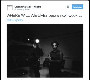 """Ayesha Casely-Hayford feat. in """"Where Will We Live?"""" a new verbatim play by Elisabeth Winkler and Lucy Curtis"""