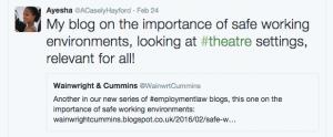Ayesha Casely-Hayford blog Waingwright and Cummins LLP