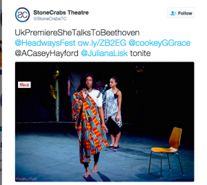 Ayesha Casely-Hayford in She Talks To Beethoven