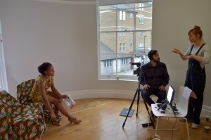 Ayesha Casely-Hayford, Chris Lovell and Imogen Dall