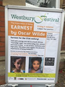 Ayesha Casely-Hayford and Kudzanayi Chiwawa at Westbury Festival, one of our favourite rural tour venues