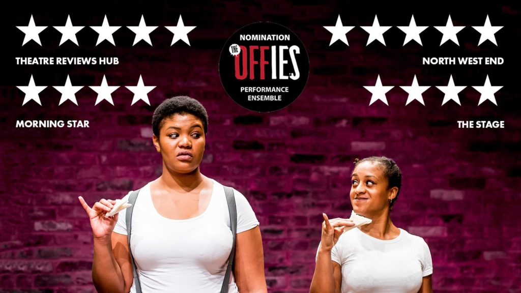 A photo of reviews for The Importance of Being Earnest feat. Ayesha Casely-Hayford and Kudzanayi Chiwawa