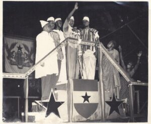 picture of Archie Casely-Hayford on Independence day presented in Ayesha Casely-Hayford's biography, who is his great granddaughter.